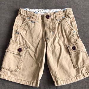 Boys Mini Boden cargo shorts